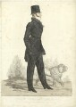 'A view taken in Hyde Park' (Henry Somerset, 7th Duke of Beaufort), by and published by Richard Dighton - NPG D31578