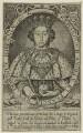 King Richard II, by Renold or Reginold Elstrack (Elstracke) - NPG D23717