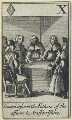 'Gavan informs the Fathers of the affairs in Staffordshire' (John Gavan), after Francis Barlow - NPG D23011(d)