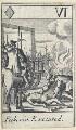 'Pickerin Executed' (Thomas Pickering), after Francis Barlow - NPG D23011(h)