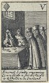 'Severall Jesuitts receiving Commissions to Stir the People to Rebellion in Scotland', after Francis Barlow - NPG D23011(i)
