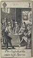'The Consult at the white horse Taverne', after Francis Barlow - NPG D23011(m)