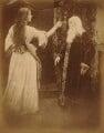 'Vivien and Merlin' (Agnes Mangles (Lady Chapman); Charles Hay Cameron), by Julia Margaret Cameron - NPG x18029