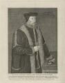 William Howard, 1st Baron Howard of Effingham, by John Ogborne, possibly after  Hans Eworth - NPG D31597