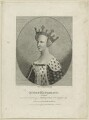 Catherine of Valois, by Silvester Harding, published by  E. & S. Harding - NPG D23752