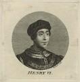 King Henry VI, by Simon François Ravenet - NPG D23762
