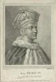 King Henry VI, by William Nelson Gardiner, published by  Edward Harding, after  Silvester Harding - NPG D23766