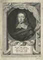 John Milton, by George Vertue, after  William Faithorne - NPG D23544