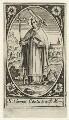 Thomas Becket, by Unknown artist - NPG D31598