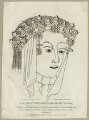 Cecily (née Neville), Duchess of York, published by Edward Harding - NPG D23787