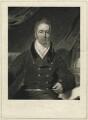 Richard Benyon de Beauvoir, by Henry Edward Dawe, after  Samuel Lane - NPG D31600
