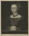 Elizabeth Woodville, by Johann Gottlieb Facius, or by  Georg Siegmund Facius, after  Thomas Kerrich - NPG D23802