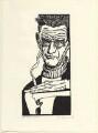 Samuel Beckett, by Lars Hokanson - NPG D31605