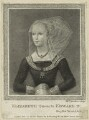 Elizabeth Woodville, by William Nelson Gardiner, published by  Edward Harding - NPG D23803