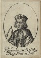 King Richard III, possibly by William Faithorne - NPG D23822