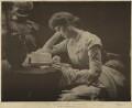 (Marion Margaret) Violet Manners (née Lindsay), Duchess of Rutland, by Hayman Seleg Mendelssohn - NPG x22147