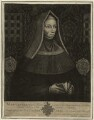 Lady Margaret Beaufort, Countess of Richmond and Derby, by John Faber Sr, after  Unknown artist - NPG D23853