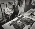 Ivor Abrahams, by Anne-Katrin Purkiss - NPG x128874