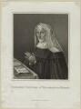 Lady Margaret Beaufort, Countess of Richmond and Derby, by Innocenzo Geremia, published by  John Scott - NPG D23871