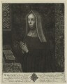 Lady Margaret Beaufort, Countess of Richmond and Derby, by John Faber Sr, after  Unknown artist - NPG D23872