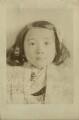 Unknown girl, by Cavendish Morton - NPG x128861