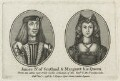 James IV of Scotland; Margaret Tudor, published by John Thane, after  Unknown artists - NPG D23903