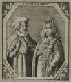 Robert de Vere and his wife Philippa de Coucy, after Unknown artist - NPG D23927
