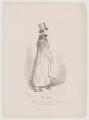 Dionysius Lardner, by Daniel Maclise, published by  James Fraser - NPG D9003