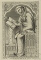 Edwin, monk of Christ Church, the Cathedral of Canterbury, by George Vertue - NPG D23944