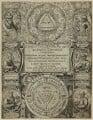 Crollius's 'Basilica Chymica', by Aegidius Sadeler II - NPG D23980