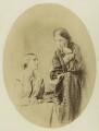 Julia Prinsep Stephen (née Jackson, formerly Mrs Duckworth); Mia Jackson, by The London Photographic Company - NPG x1587