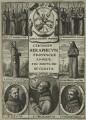 Alexander of Hales, Jon Duns Scotus, William Ockham, Angelo da Clareno and John Gennings, after Unknown artist - NPG D23987
