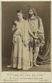 Madge Kendal as Galatea; William Hunter Kendal as Pygmalion in 'Pygmalion and Galatea', by London Stereoscopic & Photographic Company - NPG x19110