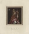 Walter de Stapledon, published for Rudolph Ackermann - NPG D23995