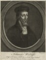 John Wycliffe, by Richard Houston - NPG D24006