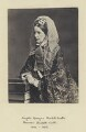 Angela Burdett-Coutts, Baroness Burdett-Coutts, by London Stereoscopic & Photographic Company - NPG x4891