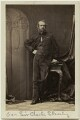 Sir Charles William Dunbar Staveley, by Camille Silvy - NPG x38986