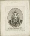 Catherine Howard (née Moleyns), Duchess of Norfolk, after George Vertue - NPG D24095