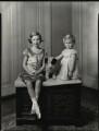 Hon. Pamela Jean Beshoff (née Allanson-Winn); Hon. Janet Diana Vlassopulos (née Allanson-Winn), by Bassano Ltd - NPG x151528