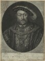 King Henry VIII, by John Faber Jr, after  Hans Holbein the Younger - NPG D24140