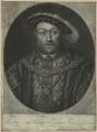 King Henry VIII, by John Faber Jr, after  Hans Holbein the Younger - NPG D24140