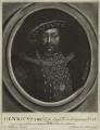 King Henry VIII, by John Faber Sr, after  Hans Holbein the Younger - NPG D24142
