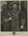 King Henry VIII, by John Faber Sr - NPG D24143