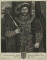King Henry VIII, by John Faber Sr - NPG D24143