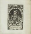 King Henry VIII, by Francis Delaram - NPG D24144