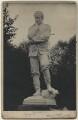 Hamo Thornycroft with his statue of Charles George Gordon, by F.W. Edwards - NPG x12594