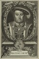 King Henry VIII, by Peter Vanderbank (Vandrebanc), after  Edward Lutterell (Luttrell) - NPG D24161