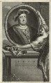 King Henry VIII, by Gerard Valck, after  Adriaen van der Werff - NPG D24163