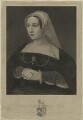 Katherine Parr, by William Camden Edwards, after  Hans Holbein the Younger - NPG D24191