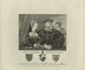 Charles Brandon and Mary Tudor, by Thomas Trotter - NPG D24199